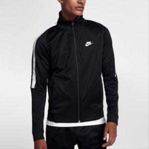 Nike Tribute Track Jacket Men's Black White XL